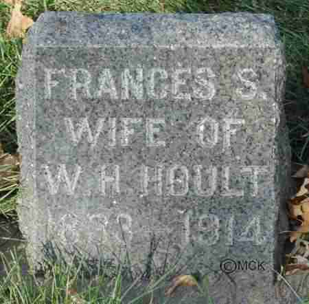 HOULT, FRANCES S. - Minnehaha County, South Dakota   FRANCES S. HOULT - South Dakota Gravestone Photos