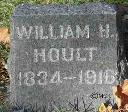 HOULT, WILLIAM H. - Minnehaha County, South Dakota | WILLIAM H. HOULT - South Dakota Gravestone Photos