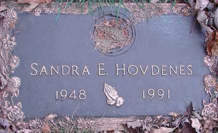 HOVDENES, SANDRA E. - Minnehaha County, South Dakota   SANDRA E. HOVDENES - South Dakota Gravestone Photos