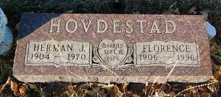 HOVDESTAD, FLORENCE - Minnehaha County, South Dakota | FLORENCE HOVDESTAD - South Dakota Gravestone Photos