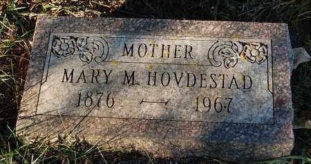 HOVDESTAD, MARY M. - Minnehaha County, South Dakota   MARY M. HOVDESTAD - South Dakota Gravestone Photos