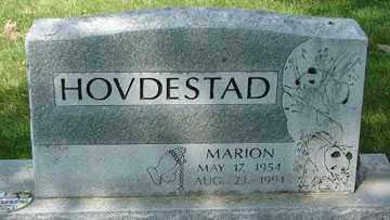 HOVDESTAD, MARION - Minnehaha County, South Dakota   MARION HOVDESTAD - South Dakota Gravestone Photos