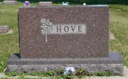 HOVE, LOUISE - Minnehaha County, South Dakota | LOUISE HOVE - South Dakota Gravestone Photos