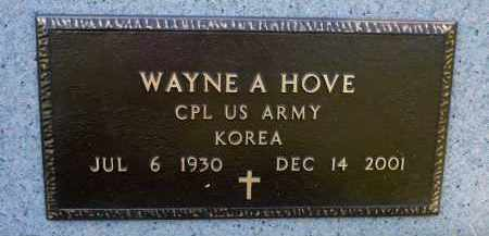 HOVE, WAYNE A. (KOREA) - Minnehaha County, South Dakota | WAYNE A. (KOREA) HOVE - South Dakota Gravestone Photos