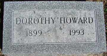HOWARD, DOROTHY - Minnehaha County, South Dakota   DOROTHY HOWARD - South Dakota Gravestone Photos