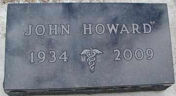 HOWARD, JOHN - Minnehaha County, South Dakota | JOHN HOWARD - South Dakota Gravestone Photos