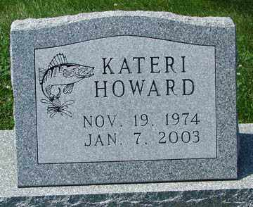 HOWARD, KATERI - Minnehaha County, South Dakota | KATERI HOWARD - South Dakota Gravestone Photos
