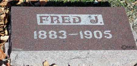 HOWE, FRED J. - Minnehaha County, South Dakota | FRED J. HOWE - South Dakota Gravestone Photos