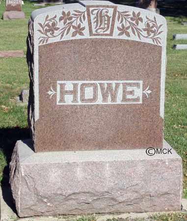 HOWE, HEADSTONE - Minnehaha County, South Dakota | HEADSTONE HOWE - South Dakota Gravestone Photos