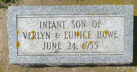 HOWE, INFANT SON - Minnehaha County, South Dakota | INFANT SON HOWE - South Dakota Gravestone Photos