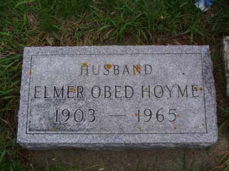 HOYME, ELMER OBED - Minnehaha County, South Dakota | ELMER OBED HOYME - South Dakota Gravestone Photos