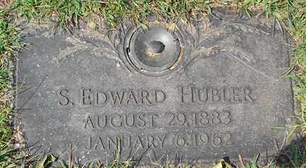 HUBLER, S. EDWARD - Minnehaha County, South Dakota | S. EDWARD HUBLER - South Dakota Gravestone Photos