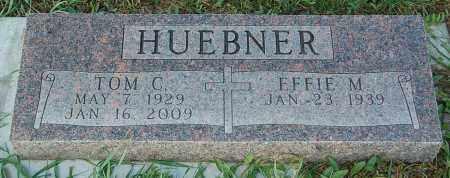 HUEBNER, EFFIE M. - Minnehaha County, South Dakota | EFFIE M. HUEBNER - South Dakota Gravestone Photos