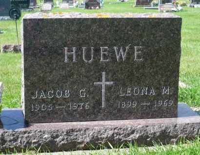 HUEWE, JACOB G. - Minnehaha County, South Dakota | JACOB G. HUEWE - South Dakota Gravestone Photos