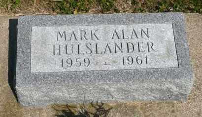 HULSLANDER, MARK ALAN - Minnehaha County, South Dakota | MARK ALAN HULSLANDER - South Dakota Gravestone Photos