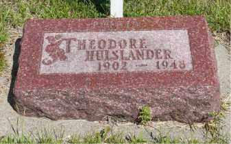 HULSLANDER, THEODORE - Minnehaha County, South Dakota | THEODORE HULSLANDER - South Dakota Gravestone Photos