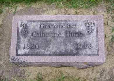 HUME, CATHERINE - Minnehaha County, South Dakota | CATHERINE HUME - South Dakota Gravestone Photos