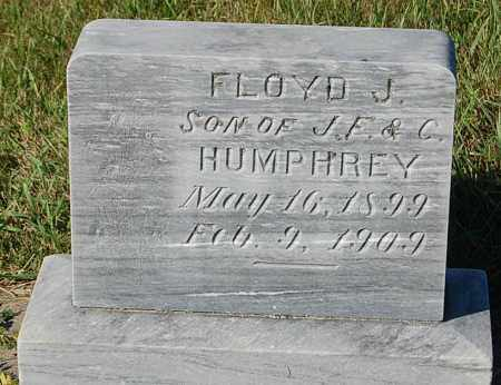 HUMPHREY, FLOYD J. - Minnehaha County, South Dakota | FLOYD J. HUMPHREY - South Dakota Gravestone Photos