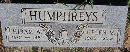 HUMPHREYS, HIRAM W. - Minnehaha County, South Dakota | HIRAM W. HUMPHREYS - South Dakota Gravestone Photos