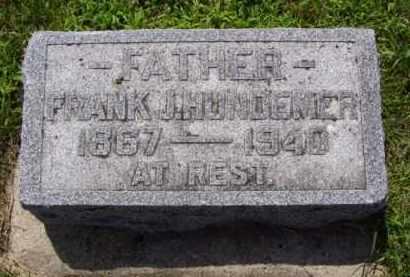 HUNDEMER, FRANK JOHN - Minnehaha County, South Dakota | FRANK JOHN HUNDEMER - South Dakota Gravestone Photos