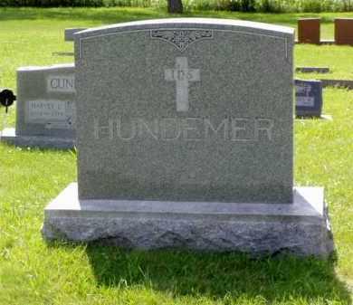 HUNDEMER, MARY FRANCES - Minnehaha County, South Dakota | MARY FRANCES HUNDEMER - South Dakota Gravestone Photos