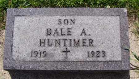 HUNTIMER, DALE A. - Minnehaha County, South Dakota | DALE A. HUNTIMER - South Dakota Gravestone Photos