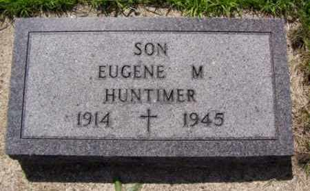 HUNTIMER, EUGENE M. - Minnehaha County, South Dakota | EUGENE M. HUNTIMER - South Dakota Gravestone Photos