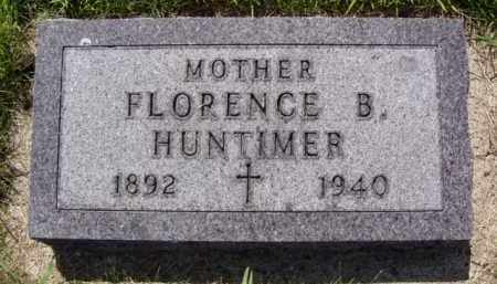 HUNTIMER, FLORENCE B. - Minnehaha County, South Dakota | FLORENCE B. HUNTIMER - South Dakota Gravestone Photos
