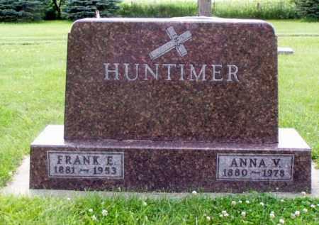 HUNTIMER, FRANK EDWARD - Minnehaha County, South Dakota | FRANK EDWARD HUNTIMER - South Dakota Gravestone Photos