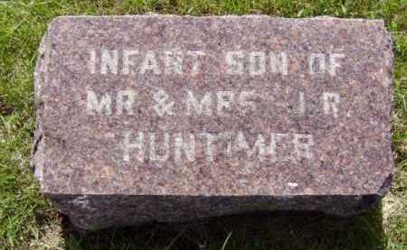 HUNTIMER, INFANT SON - Minnehaha County, South Dakota | INFANT SON HUNTIMER - South Dakota Gravestone Photos