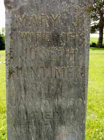 HUNTIMER, MARY J. - Minnehaha County, South Dakota   MARY J. HUNTIMER - South Dakota Gravestone Photos