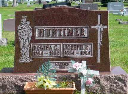 HUNTIMER, REGINA C. - Minnehaha County, South Dakota | REGINA C. HUNTIMER - South Dakota Gravestone Photos