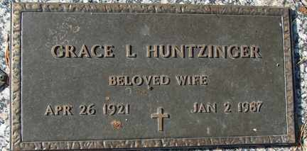 HUNTZINGER, GRACE L. - Minnehaha County, South Dakota | GRACE L. HUNTZINGER - South Dakota Gravestone Photos