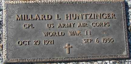 HUNTZINGER, MILLARD L. (WWII) - Minnehaha County, South Dakota | MILLARD L. (WWII) HUNTZINGER - South Dakota Gravestone Photos