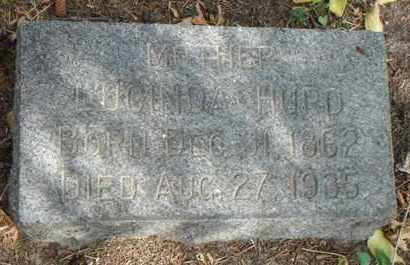 HURD, LUCINDA - Minnehaha County, South Dakota   LUCINDA HURD - South Dakota Gravestone Photos