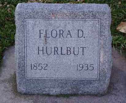 HURLBUT, FLORA D. - Minnehaha County, South Dakota | FLORA D. HURLBUT - South Dakota Gravestone Photos