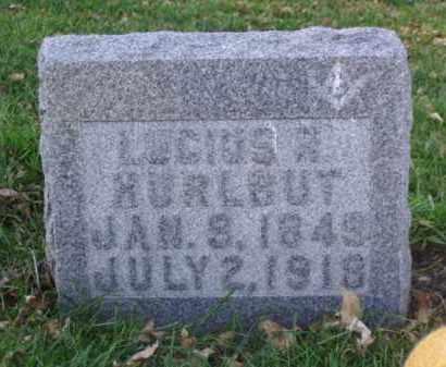 HURLBUT, LUCIUS R. - Minnehaha County, South Dakota | LUCIUS R. HURLBUT - South Dakota Gravestone Photos