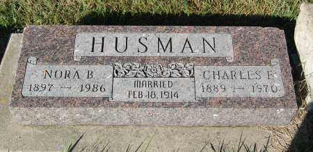 HUSMAN, CHARLES E. - Minnehaha County, South Dakota | CHARLES E. HUSMAN - South Dakota Gravestone Photos