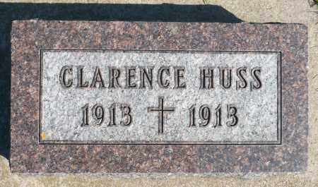HUSS, CLARENCE - Minnehaha County, South Dakota | CLARENCE HUSS - South Dakota Gravestone Photos