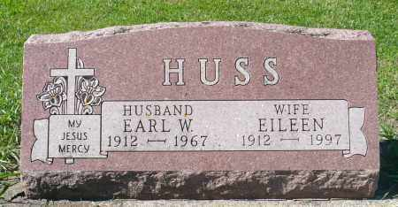 HUSS, EILEEN - Minnehaha County, South Dakota | EILEEN HUSS - South Dakota Gravestone Photos