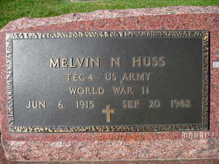 HUSS, MELVIN M. (WWII) - Minnehaha County, South Dakota | MELVIN M. (WWII) HUSS - South Dakota Gravestone Photos