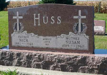 HUSS, SUSAN - Minnehaha County, South Dakota | SUSAN HUSS - South Dakota Gravestone Photos