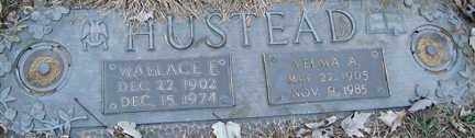 HUSTEAD, WALLACE FRANKLIN - Minnehaha County, South Dakota | WALLACE FRANKLIN HUSTEAD - South Dakota Gravestone Photos