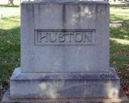 HUSTON, HEADSTONE - Minnehaha County, South Dakota   HEADSTONE HUSTON - South Dakota Gravestone Photos
