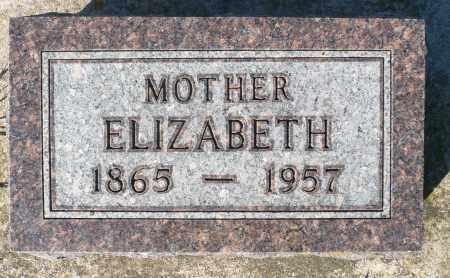HUWE, ELIZABETH - Minnehaha County, South Dakota   ELIZABETH HUWE - South Dakota Gravestone Photos