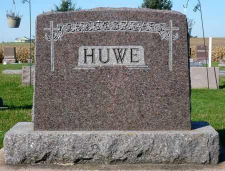 HUWE, FAMILY MARKER - Minnehaha County, South Dakota | FAMILY MARKER HUWE - South Dakota Gravestone Photos