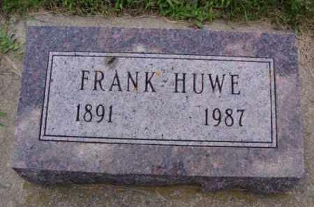 HUWE, FRANK JOHN - Minnehaha County, South Dakota   FRANK JOHN HUWE - South Dakota Gravestone Photos