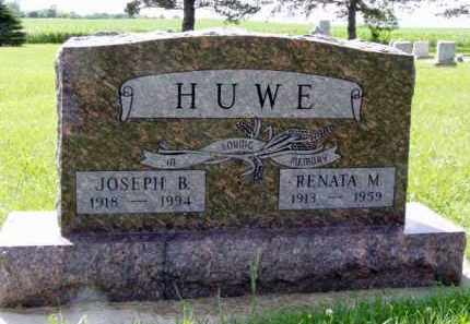 HUWE, JOSEPH - Minnehaha County, South Dakota | JOSEPH HUWE - South Dakota Gravestone Photos