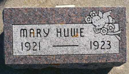 HUWE, MARY - Minnehaha County, South Dakota   MARY HUWE - South Dakota Gravestone Photos