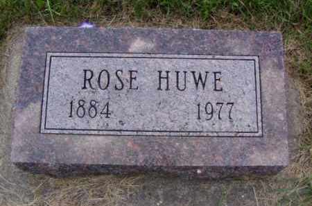 HUWE, ROSE - Minnehaha County, South Dakota   ROSE HUWE - South Dakota Gravestone Photos